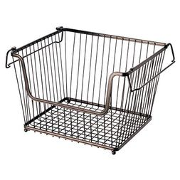 InterDesign York Lyra Kitchen Organizer Basket - Large Open