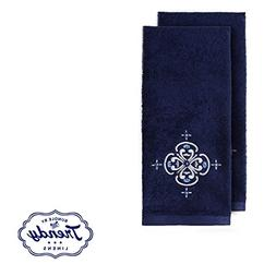 Zamora Hand Towels - Bathroom Shower Collection - Set of 2 H