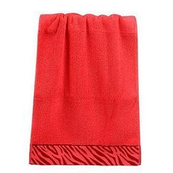 1 Piece Zebra Stripe Luxury Hotel & Spa Bath Towel Hand Towe